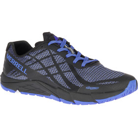 Merrell Bare Access Flex Shield Running Shoes Women blue/black